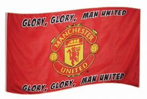 Manchester Utd Football Club Large 5ft x 3ft Flag (07)
